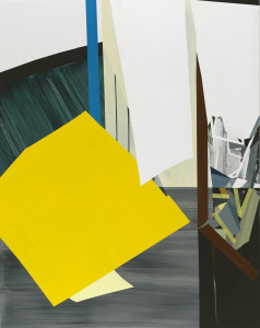 Untitled, 2012, acrylic on board, 60 x 48 inches