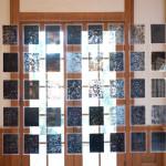 Bethany Johnson, Installation of ShapeShifting: New Methods of Drawing by Bethany Johnson and Ann Tarantino at AMOA-Arthouse at Laguna Gloria, 2012, Courtesy of AMOA-Arthouse, Photo by Erica Nix.