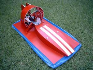 LSX prototype hovercraft