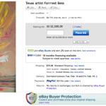 There's a Forrest Bess on eBay?