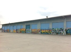 HH's Temporary Warehouse- note historic NEKST piece
