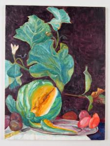 "Todd Kelly Melon.  24""x18"" oil on canvas 2012"