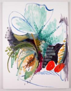 "Todd Kelly Melon 2.  24""x18"" oil on canvas 2012"
