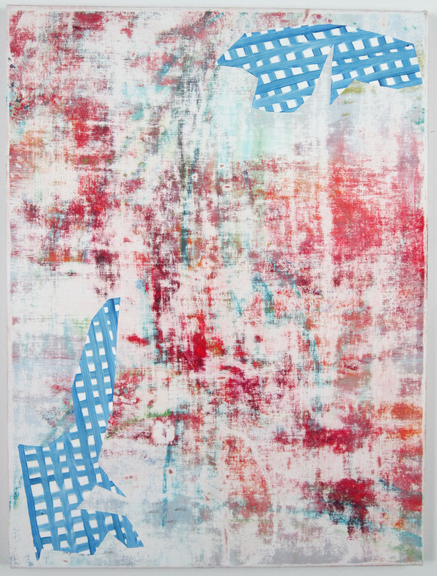 """Todd Kelly, Untitled Abstract Painting 23. 24""""x 18"""" oil on canvas 2012"""