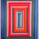 """Todd Kelly Untitled Abstract Painting 24.  24""""x 18"""" oil on canvas 2012"""