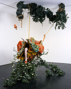Yinka Shonibare, MBE, The Swing (after Fragonard) © 2012 Yinka Shonibare. Courtesy of the artist and Tate Collection, London