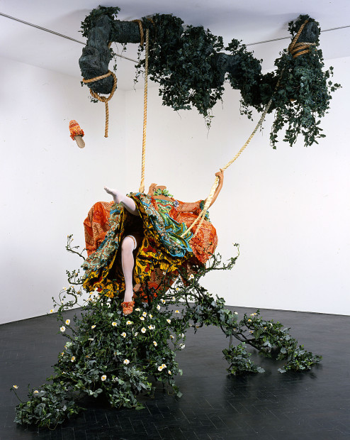Yinka Shonibare, MBE, The Swing (after Fragonard)  2012 Yinka Shonibare. Courtesy of the artist and Tate Collection, London