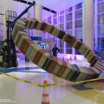 Art Guys Dust Off Suitcase Wheel for San Antonio Airport