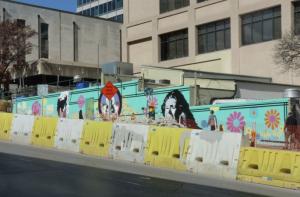 austin mural construction