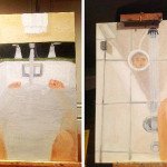 Bush in The Bath: Ex-President&#8217;s Hacked Paintings Probed by Avid Internet Psychoanalysts