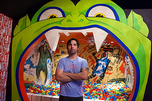 Photo: &quot;Zack and the Monster Ball Pit&quot; by Debbie Cerda