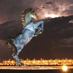 Blue Horse Debate: Jiménez Mustang, Monument, Monster, or Moola?