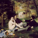 Edouard Manet, Le djeuner sur l&#039;herbe, oil on canvas, 1862-1863