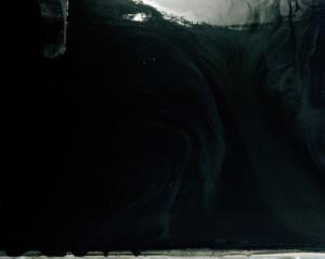 "Brook Berger, ""House pain, cement board, light"" 32"" x 40"", Chromogenic Print, 2009"