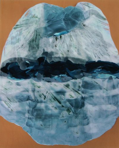 Sonya Berg- Steel- Oil on photograph- 20 x 16 in.- 2013- 1-200