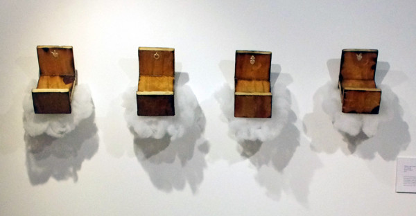 Chris Davila, Wishes Lost In The Clouds, Wood/Metal/Fiber, 2013