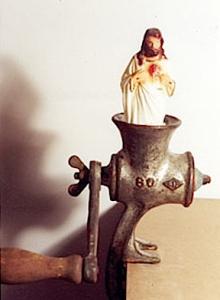 jesus in a grinder ferrari