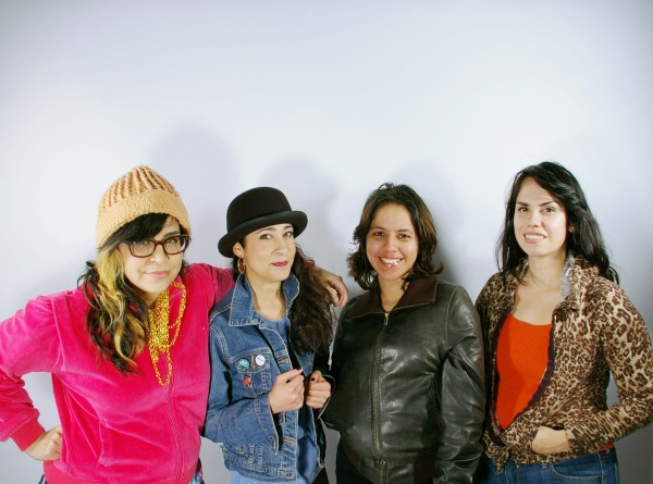 Más Rudas: (from left) Mari Hernandez, Kristin Gamez, Sarah Castillo, and Ruth Leonela Buentello