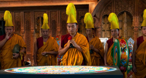 Monks at Crow Collection