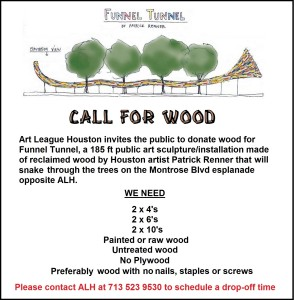 call for wood
