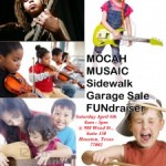 MOCAH Musaic Garage Sale TODAY!!