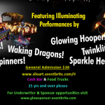 Glowing Hoopers and Sparkle Heads: Houston  Silo's 10th Anniversary Tonight