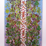 Philip Taaffe, Imaginary Garden with Seed Clusters, 2013