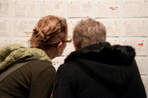 Vincent Falsetta's Index card exhibition
