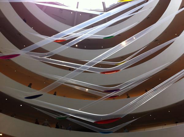 Rotunda installation, Work  (Water) by Motonaga Sadamasa, 1956/2011