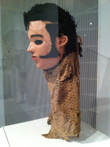 Elvis Mask for Nyau Society, Unidentified Chewa artist, circa 1977, Central or Southern region, Malawi at Brooklyn Museum