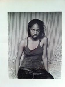 LaToya Ruby Frazier, Self-Portrait (March 10 A.M.), 2009