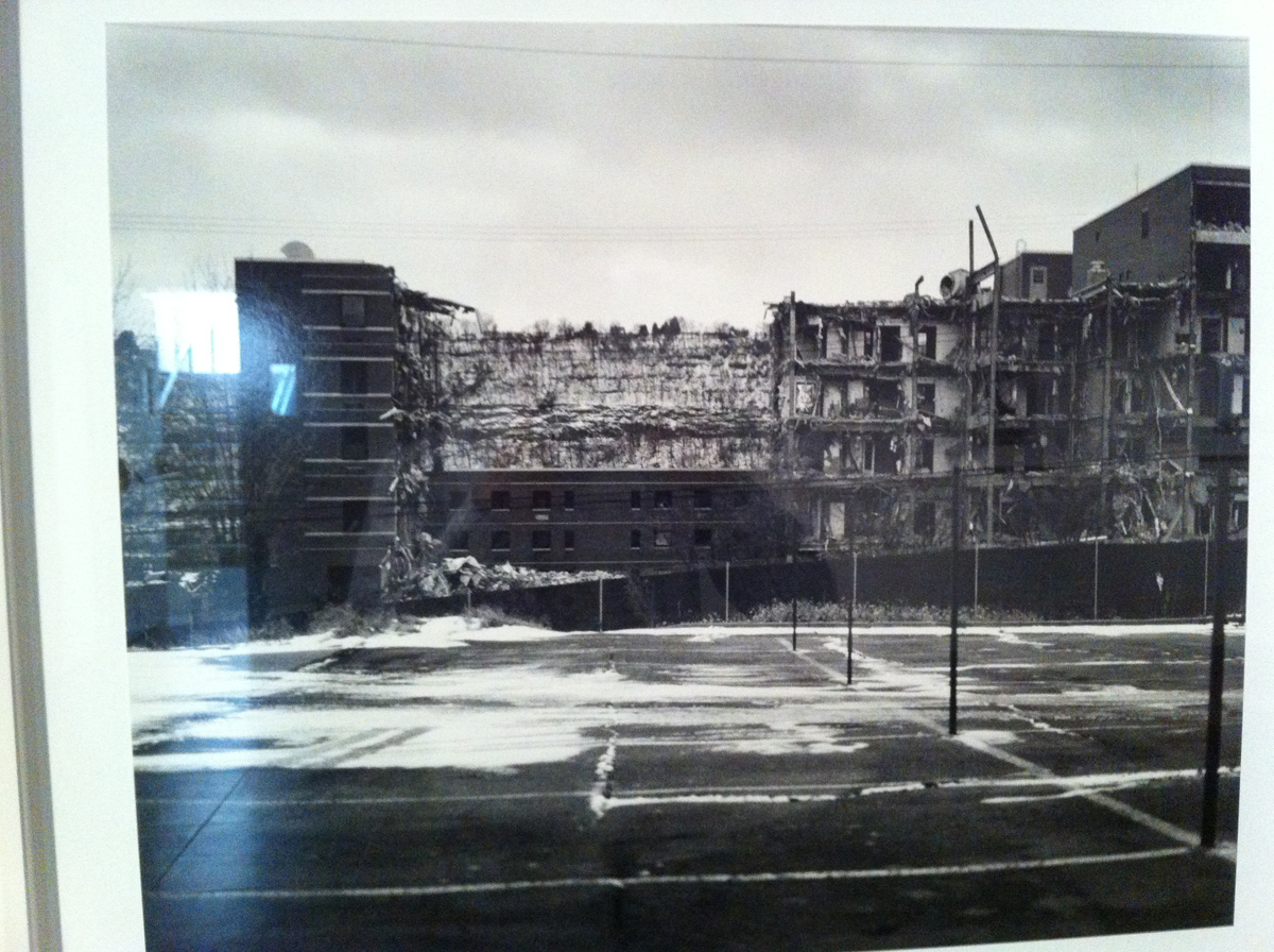 LaToya Ruby Frazier, U.P.M.C. Braddock Hospital and Holland Avenue Parking Lot, 2011
