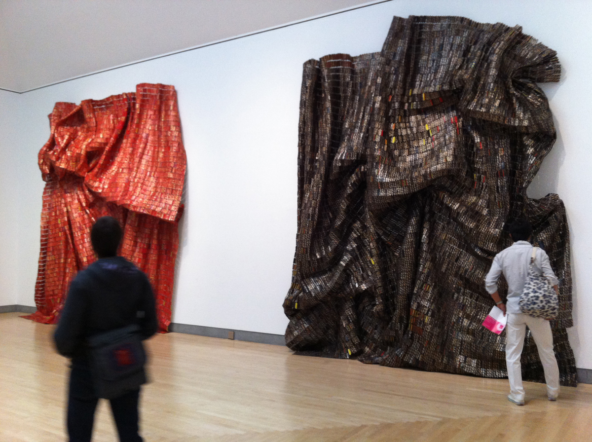 El Anatsui at Brooklyn Museum