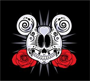 Dia-De-Los-Muertos-Mickey-Mouse