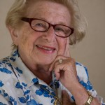 There's Another Westheimer in Houston: Dr. Ruth Visits MFAH for Chat With the Director