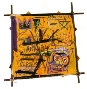 Seized painting: Hannibal, 1982, Jean-Michel Basquiat