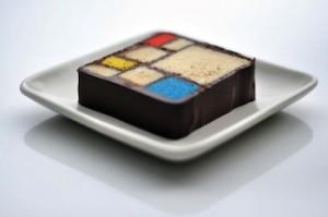 Mondrian-dessert