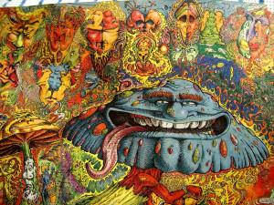Psychedelic Art!psychedelic-mushroom-lsdex