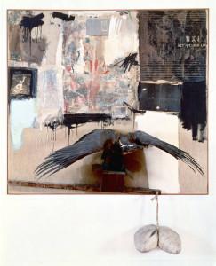 Canyon, 1959, Robert Rauschenberg