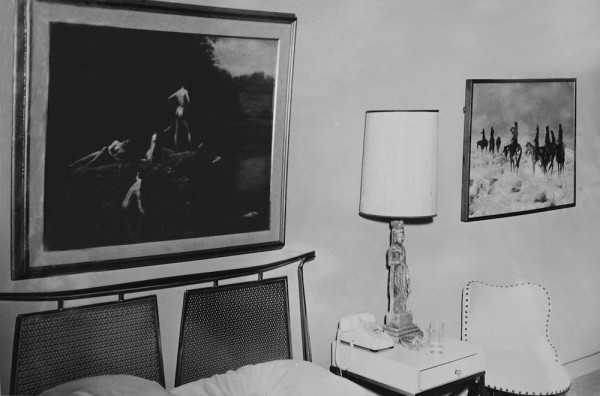 Suite 850, Hotel Texas, Fort Worth, Friday, November 22, 1963. Photo by Byron Scott.