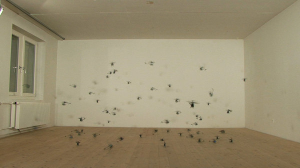 Still from 56 Kleine Helikopter (56 Small Helicopters), 2008 Courtesy artist and Hauser & Wirth, Zurich
