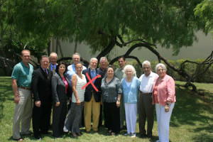 IMAS Board with Joe Bravo, center