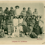 Indgenas de Ixtlahuaca, Mxico, n.d., a rare Kahlo image of people