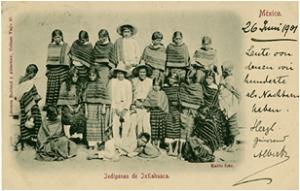 Indígenas de Ixtlahuaca, México, n.d., a rare Kahlo image of people