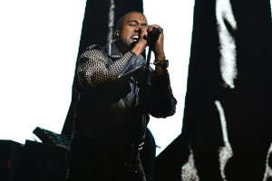 Kanye West on Saturday Night Live on May 18th. Dana Edelson/NBC/NBCU.