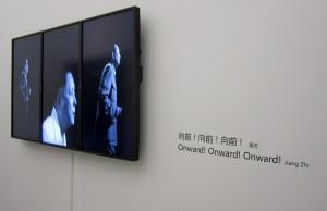 """""""Onward! Onward! Onward!"""" by Jiang Zhi at Taikang Space"""