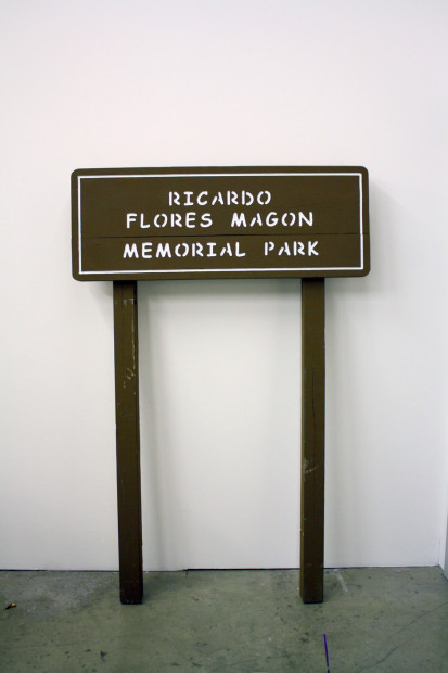Welcome to Ricardo Flores Magón Memorial Park, 2012