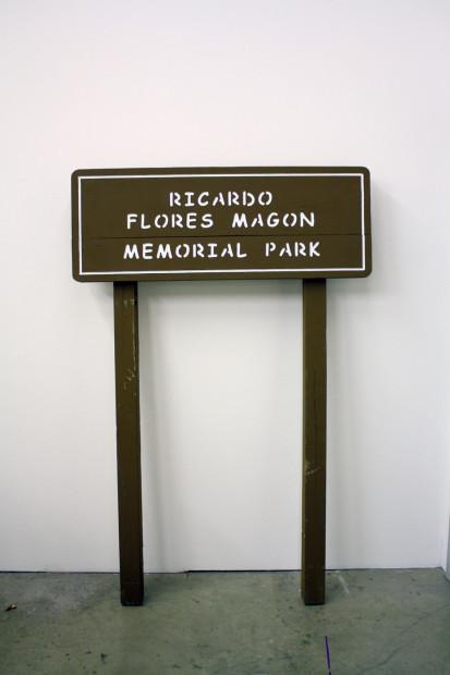 Welcome to Ricardo Flores Magón Memorial Park, 2012