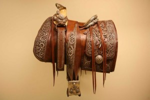 Pancho Villa's saddle