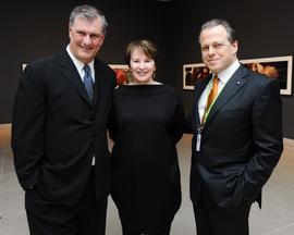 Dallas Mayor Rawlings, far left, and DMA Director Anderon, far right